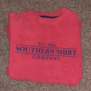 NWOT Southern Shirt Terry Cloth Sweatshirt